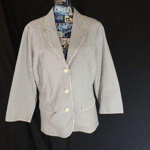 Old Navy pinstripe blazer